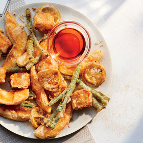 Food & Wine: Mango-and-Halloumi Fritto Misto