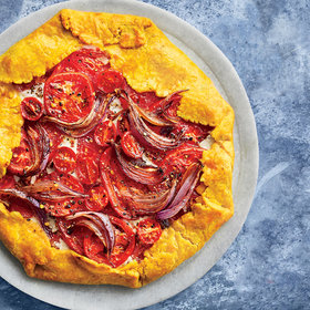 Food & Wine: Roasted Curry Tomato Pie