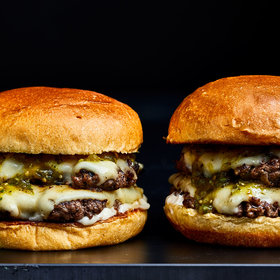 Food & Wine: Hatch Chile Smash Burgers