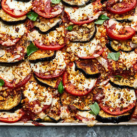 Food & Wine: Sheet Pan Eggplant Parmesan