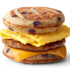 mkgalleryamp; Wine: McDonald's Tests Blueberry McGriddle Sandwich