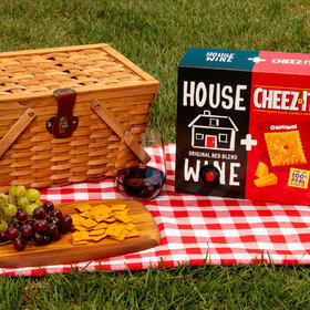 Food & Wine: These 'Wine & Cheez-It' Pairings Include Crackers and Booze in a Single Box