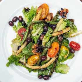 mkgalleryamp; Wine: Grilled Garden Vegetable Salad