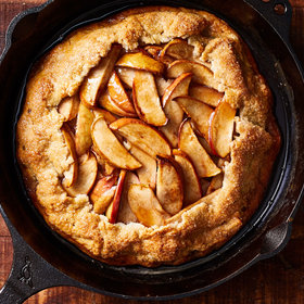 Food & Wine: Grill-Baked Apple Galette
