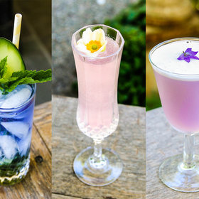 Food & Wine: The Easy Way to Make Dazzling, Color-Changing Cocktails