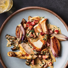 Food & Wine: Roast Chicken with Sauce Chasseur