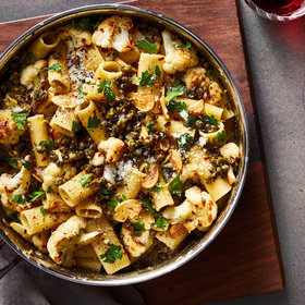 Food & Wine: Pasta with Roasted Cauliflower and Crispy Capers
