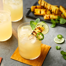 Food & Wine: Grilled Pineapple–Tequila Punch