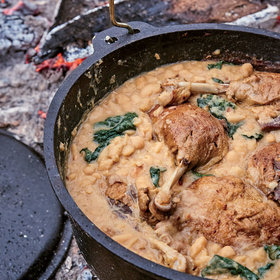 Food & Wine: Hunter's Stew with Duck Legs and Cannellini Beans