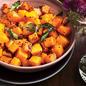 Food & Wine: Roasted Butternut Squash with Curry Leaves