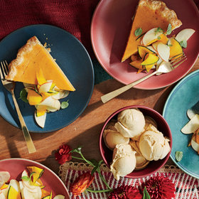 Food & Wine: Sweet Potato Pie with Honeycrisp-Kabocha Salad