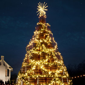 Food & Wine: Jack Daniel's Whiskey Barrel Christmas Trees Are Coming to Five Cities This Season