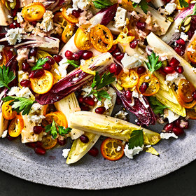 Food & Wine: Endive Salad with Kumquats and Pomegranate Arils