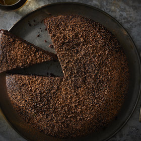 Food & Wine: Gingerbread-Spiced Chocolate-Whiskey Cake