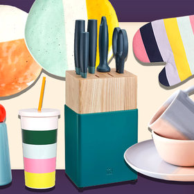 Food & Wine: 11 Beautiful Color-Blocked Tools to Upgrade Your Kitchen Space