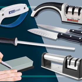 Food & Wine: The 8 Best Knife Sharpeners to Keep Your Blades Razor Sharp