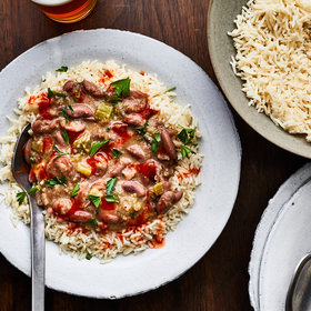 Food & Wine: Monday Night Red Beans and Rice