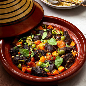 Food & Wine: Lamb and Butternut Squash Tagine with Apricots