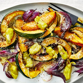 Food & Wine: Roasted Squash Salad with Sumac and Italian Dressing