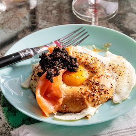 Food & Wine: Egg in a Bagel Hole