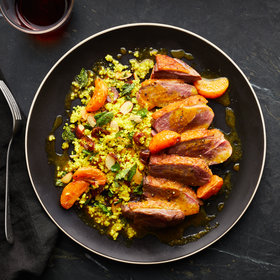 Food & Wine: Spiced Duck Breasts with Mandarin Oranges and Dates