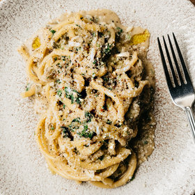 Food & Wine: Summer Crab Carbonara with Lemons and Capers