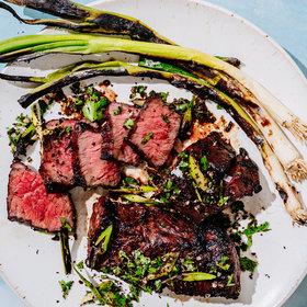 Food & Wine: Grilled Boneless Short Ribs with Scallion-Sumac Gremolata