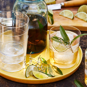 Food & Wine: Verbena-Infused Tequila and Tonic