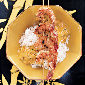 Food & Wine: Nyonya Grilled Shrimp with Coconut Sauce