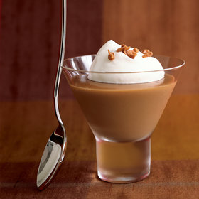 Food & Wine: Creamy Butterscotch Pudding with Toffee