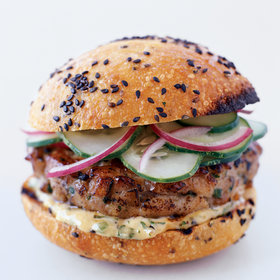 Food & Wine: Thai Tuna Burgers with Ginger-Lemon Mayonnaise