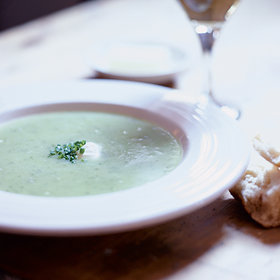 Food & Wine: Potato, Leek and Radish Green Vichyssoise