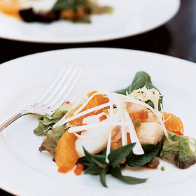 Food & Wine: Warm Cured-Cod Salad with Orange and Basil