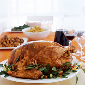 Food & Wine: How Padma Lakshmi Makes Thanksgiving Turkey