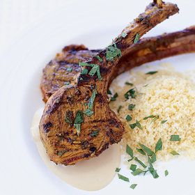 Food & Wine: Lamb Chops with Spicy Thai Peanut Sauce