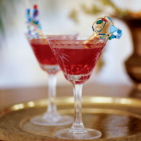 mkgalleryamp; Wine: Pomegranate Margaritas