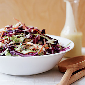 Food & Wine: Asian Coleslaw with Miso-Ginger Dressing