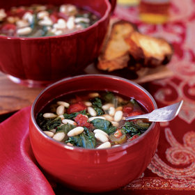 Food & Wine: Cannellini Bean and Escarole Soup