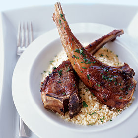 Food & Wine: Moroccan-Spiced Lamb Chops