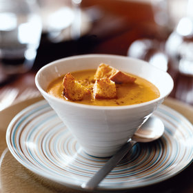 Food & Wine: Winter Squash Soup with Pie Spices