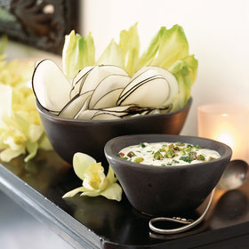 Food & Wine: Crudités with Creamy Pistachio Dip