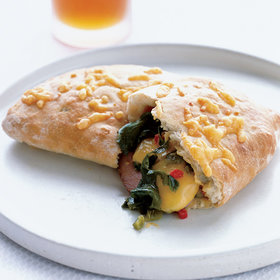 Food & Wine: Ham and Chile-Cheddar Calzones