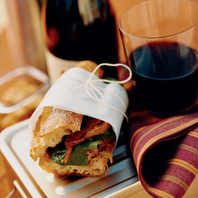 Food & Wine: Roasted Pork Sandwiches with Sauerkraut Relish