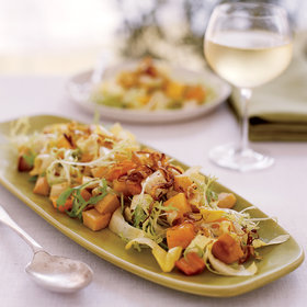 Food & Wine: Roasted Root-Vegetable Salad with Persimmons