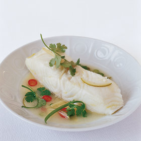 Food & Wine: Spicy Butter-Steamed Bass