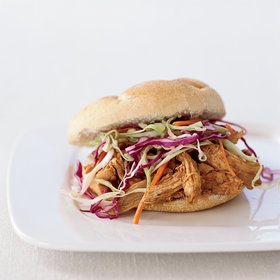 Food & Wine: Pulled-Chicken Sandwiches