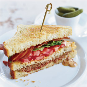Food & Wine: Meat Loaf Club Sandwiches