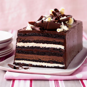 Food & Wine: Chocolate Truffle Layer Cake
