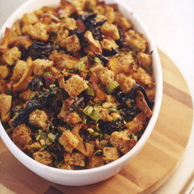 Food & Wine: Wild Mushroom Whole Wheat Stuffing with Tarragon