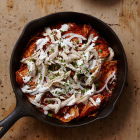 mkgalleryamp; Wine: Celebrate National Tortilla Chip Day with Chilaquiles